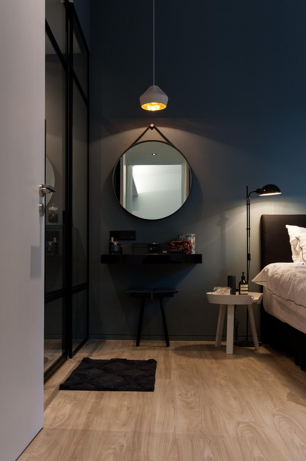 Scandinavian, Condo, Bedroom, Seletar Road, Interior Designer, MMJ Design Loft, Sink