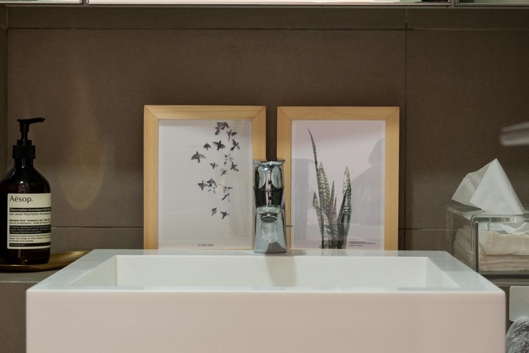 Seletar Road, MMJ Design Loft, Scandinavian, Bathroom, Condo, Bottle