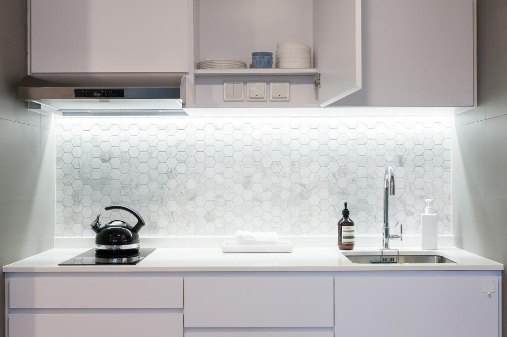 Scandinavian, Condo, Bathroom, Seletar Road, Interior Designer, MMJ Design Loft, Furniture, Sideboard