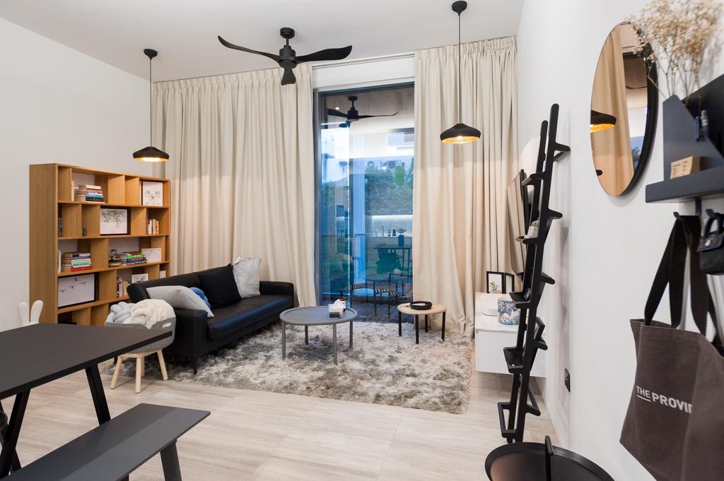 Scandinavian, Condo, Living Room, Seletar Road, Interior Designer, MMJ Design Loft, Indoors, Interior Design, Dining Room, Room