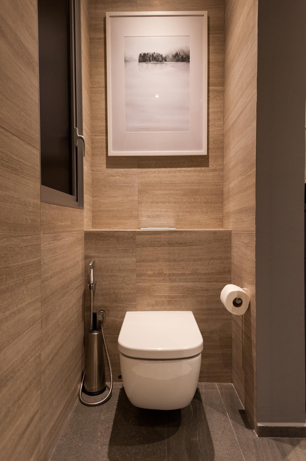 Scandinavian, Condo, Bathroom, Seletar Road, Interior Designer, MMJ Design Loft