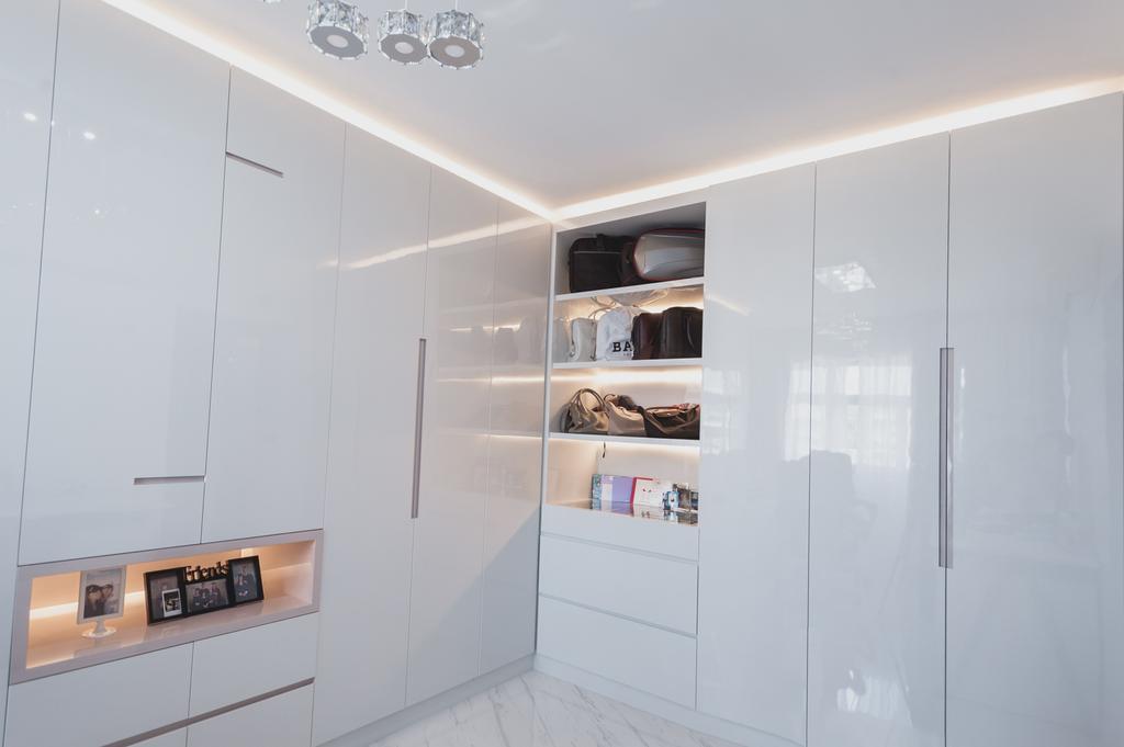 Modern, HDB, Yishun, Interior Designer, MMJ Design Loft, Minimalistic, Shelf
