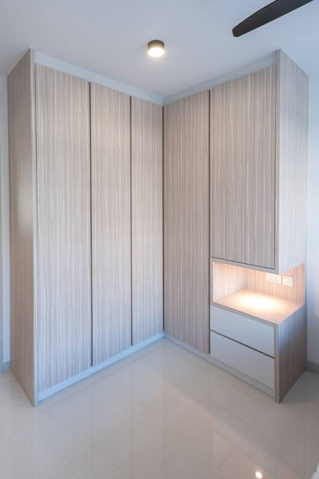 Contemporary, HDB, Upper Serangoon Road, Interior Designer, MMJ Design Loft