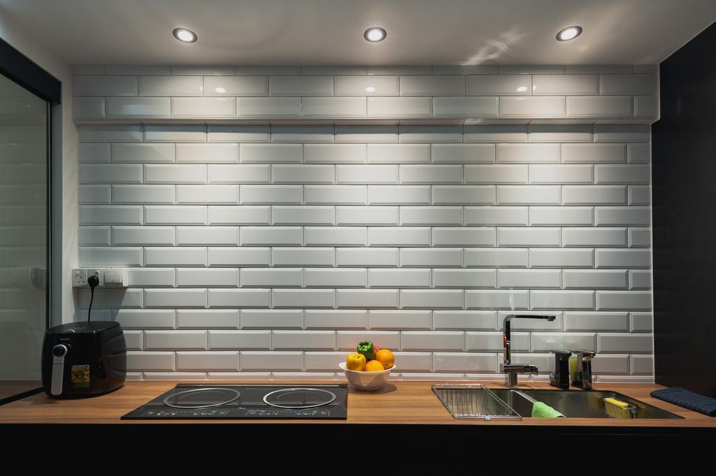 Eclectic, HDB, Kitchen, Ang Mo Kio Avenue 3, Interior Designer, MMJ Design Loft