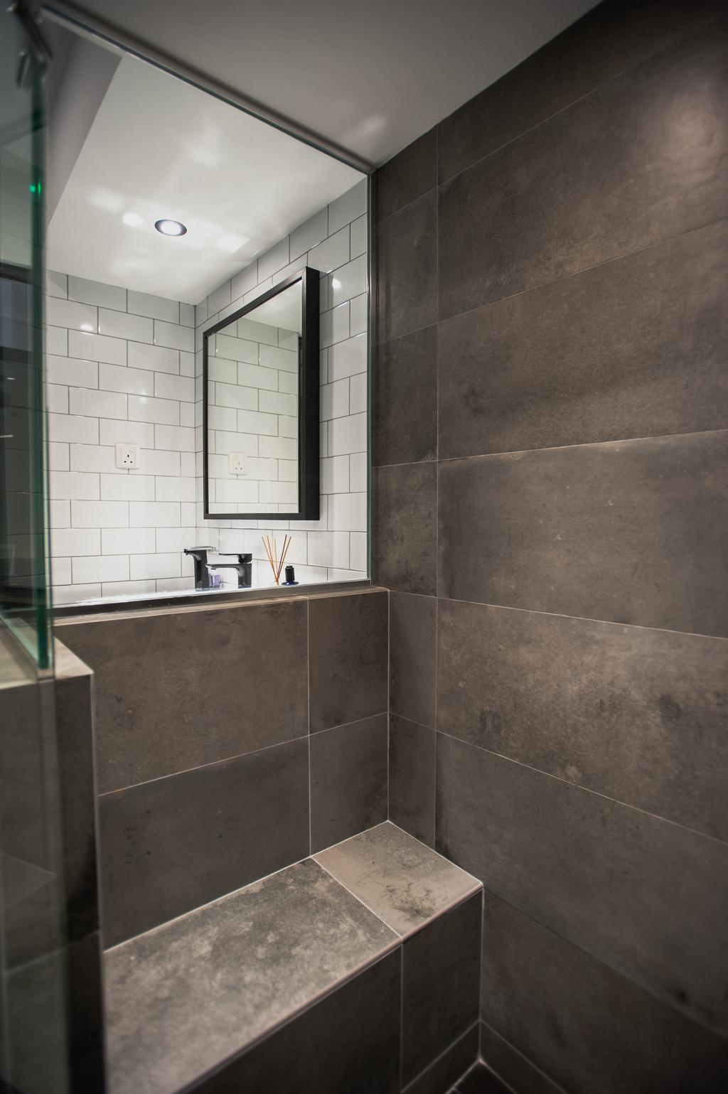 Eclectic, HDB, Bathroom, Ang Mo Kio Avenue 3, Interior Designer, MMJ Design Loft