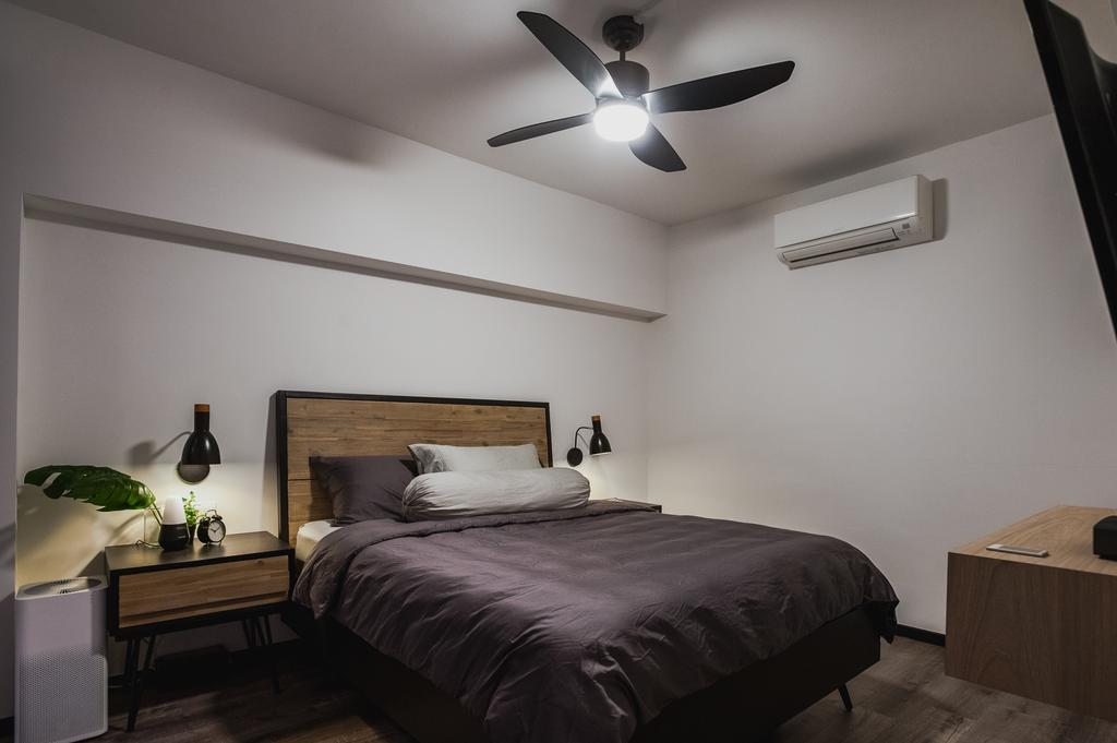 Eclectic, HDB, Bedroom, Ang Mo Kio Avenue 3, Interior Designer, MMJ Design Loft, Flora, Jar, Plant, Potted Plant, Pottery, Vase, Indoors, Interior Design, Room