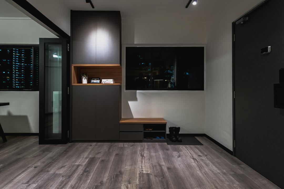 Ang Mo Kio Avenue 3, MMJ Design Loft, Eclectic, Living Room, HDB, Flooring, Computer Hardware, Electronics, Hardware