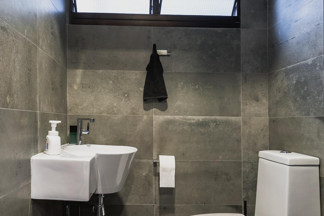 Ang Mo Kio Avenue 3, MMJ Design Loft, Eclectic, Bathroom, HDB, Indoors, Interior Design, Room, Drinking Fountain, Fountain, Water, Toilet
