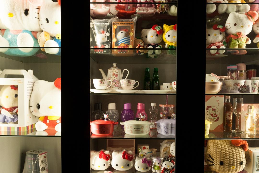 Ang Mo Kio Street 51, MMJ Design Loft, Modern, HDB, Teddy Bear, Toy, Bowl