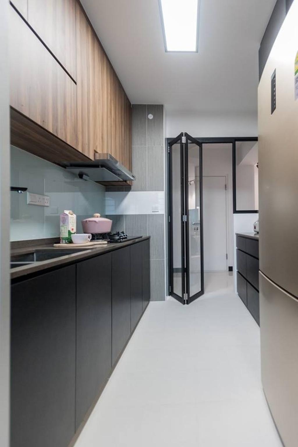 Scandinavian, HDB, Bendemeer Road, Interior Designer, MMJ Design Loft, Bathroom, Indoors, Interior Design, Room