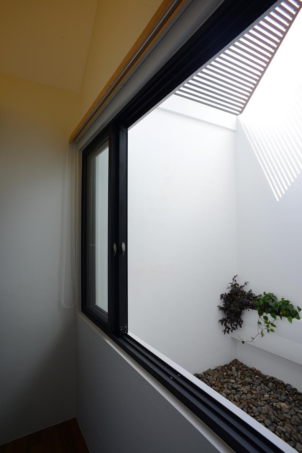 Modern, Landed, Jalan Sejarah, Interior Designer, The Design Abode, Window, Flora, Ivy, Plant