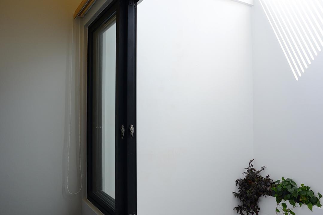 Jalan Sejarah, The Design Abode, Modern, Landed, Window, Flora, Ivy, Plant