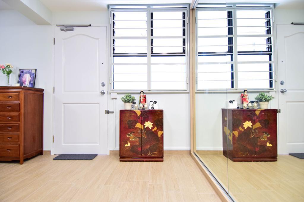 Retro, HDB, Jalan Klinik, Interior Designer, MMJ Design Loft, Eclectic, Flooring