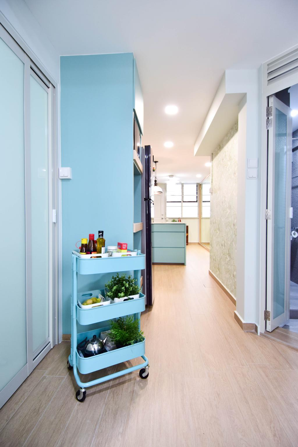 Retro, HDB, Jalan Klinik, Interior Designer, MMJ Design Loft, Eclectic