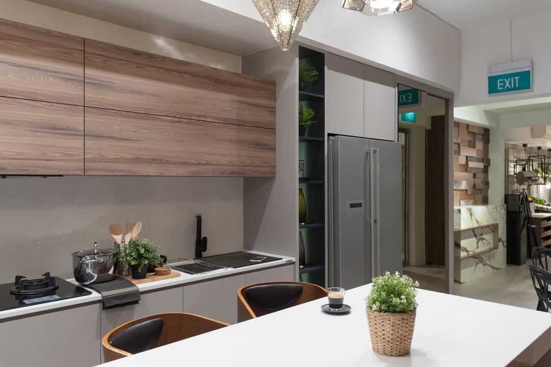 Geylang Road, MMJ Design Loft, Commercial, Appliance, Electrical Device, Fridge, Refrigerator, Flora, Jar, Plant, Planter, Potted Plant, Pottery, Vase, Indoors, Interior Design, Dining Room, Room, HDB, Building, Housing, Loft