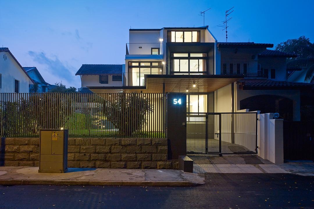 Jalan Sejarah, The Design Abode, Modern, Landed, Home Exterior, Exterior, Architecture, Building, House, Housing, Villa, Fence