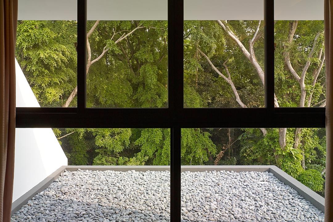 Jalan Sejarah, The Design Abode, Modern, Landed, Window, Dirt Road, Gravel, Road