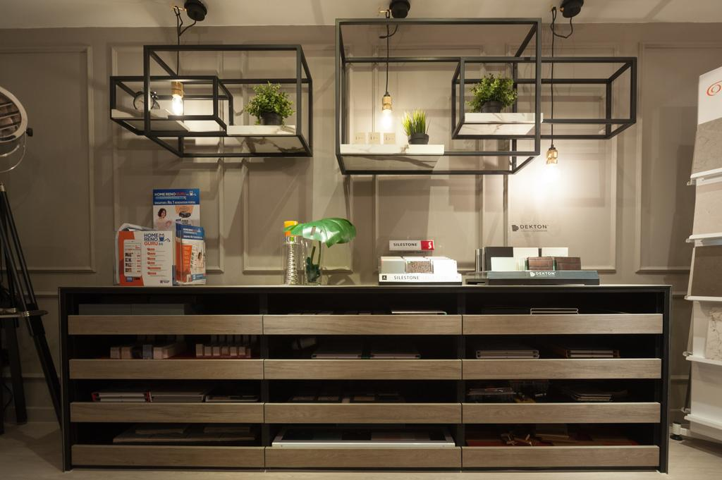 Geylang Road, Commercial, Interior Designer, MMJ Design Loft, Light Fixture, Bookcase, Furniture, Banister, Handrail, Lighting, Shelf