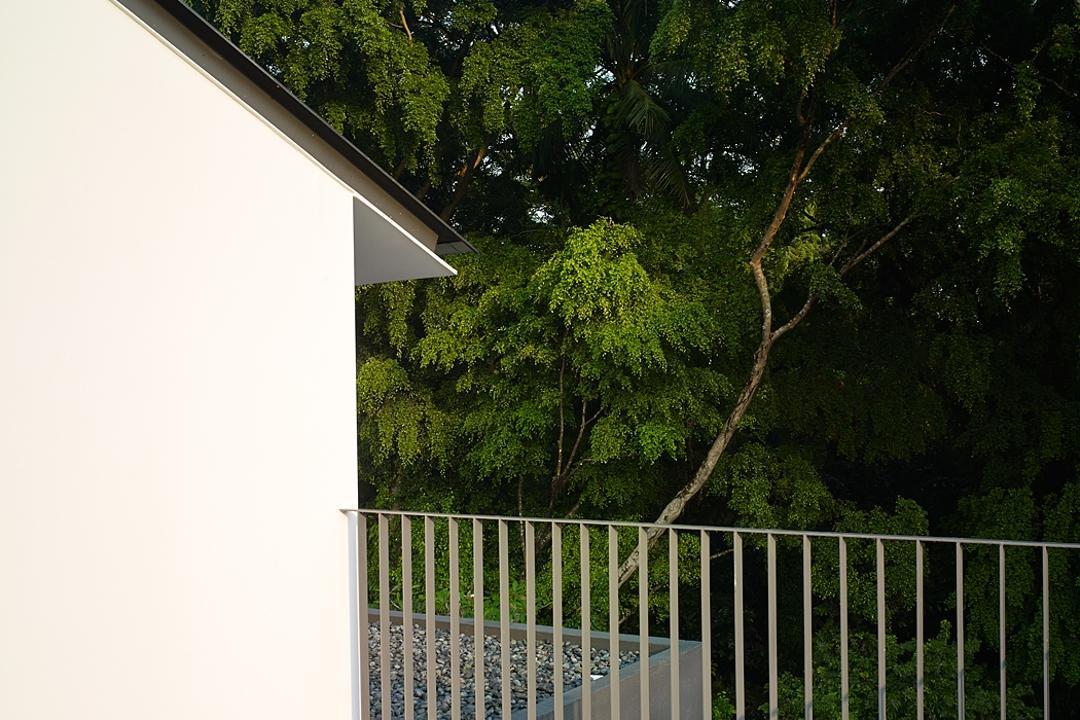 Jalan Sejarah, The Design Abode, Modern, Landed, Balcon