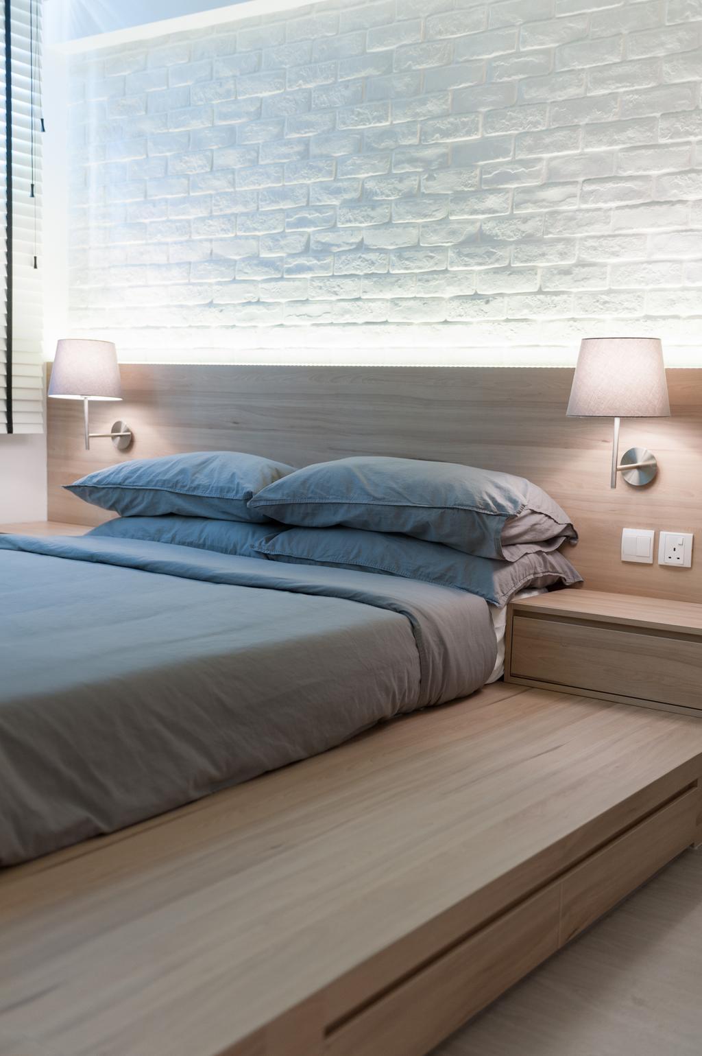 Geylang Road, Commercial, Interior Designer, MMJ Design Loft, Bed, Furniture, Lamp