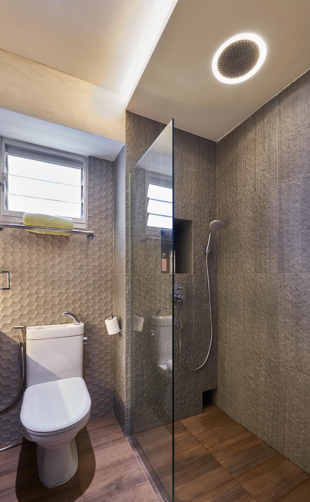 Industrial, HDB, Bathroom, Anchorvale Crescent, Interior Designer, Create, Indoors, Interior Design, Room