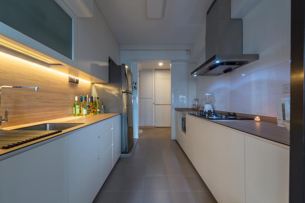 Modern, HDB, Kitchen, Ghim Moh Link, Interior Designer, Adroit ID
