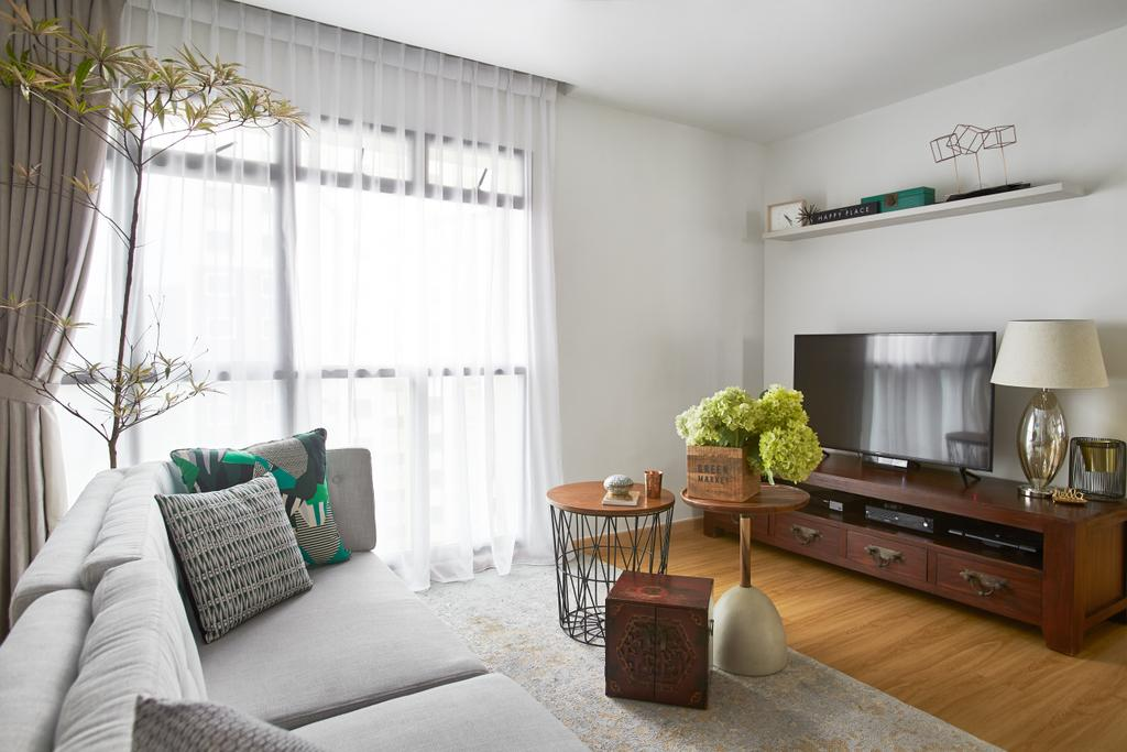 Minimalist, HDB, Living Room, Telok Blangah, Interior Designer, Bowerman, Eclectic, Furniture, Chair, Indoors, Room