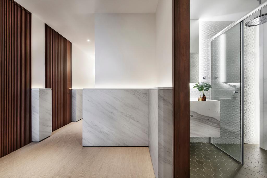 Contemporary, Condo, Bathroom, The Seafront, Architect, UPSTAIRS_, Minimalistic, Indoors, Interior Design, Room