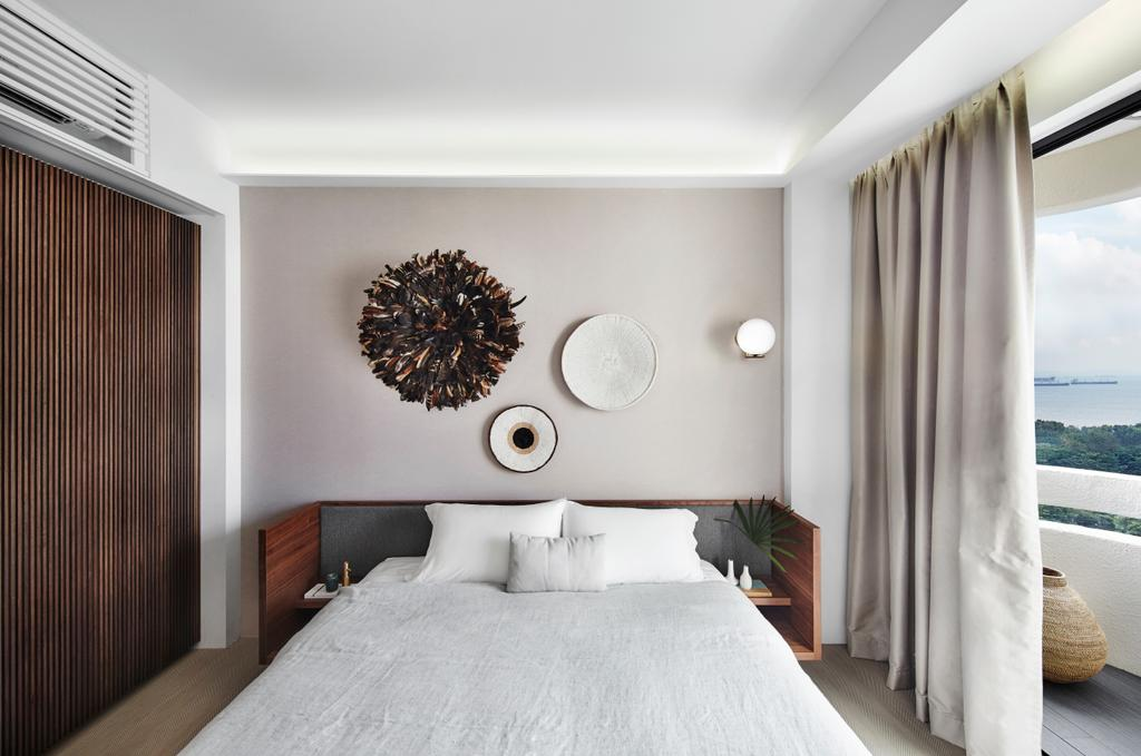 Contemporary, Condo, Bedroom, The Seafront, Architect, UPSTAIRS_, Minimalistic, Indoors, Interior Design, Room