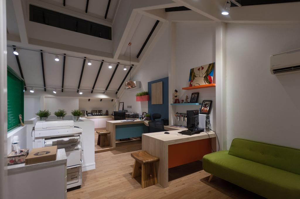 Geylang Road, Commercial, Interior Designer, MMJ Design Loft, Bench, HDB, Building, Housing, Indoors, Loft