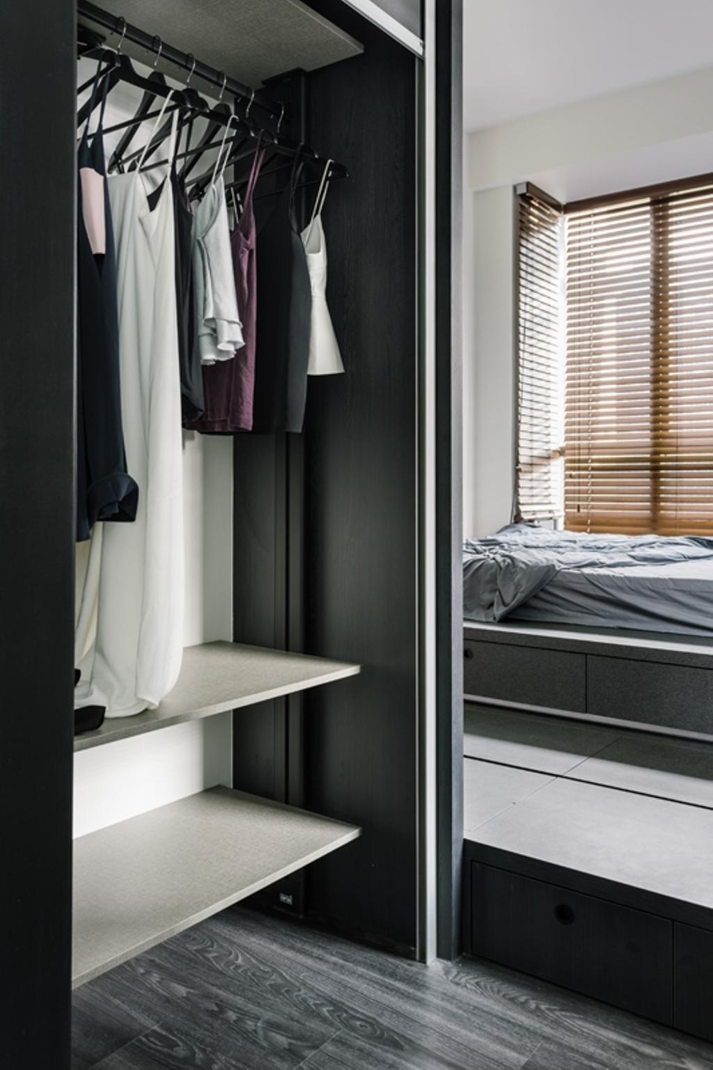 Modern, Condo, Lincoln Suites, Interior Designer, Habit, Minimalistic, Towel