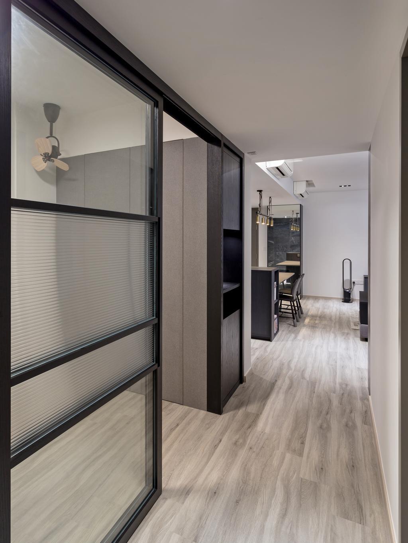 Modern, Condo, Bellewaters, Interior Designer, Habit, Contemporary, Flooring