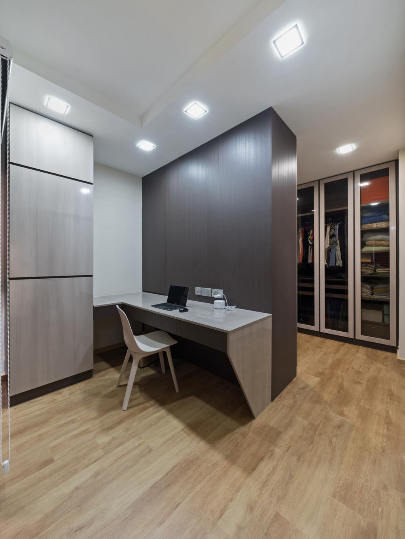 Modern, HDB, Study, Choa Chu Kang Street 64, Interior Designer, U-Home Interior Design, Dining Table, Furniture, Table