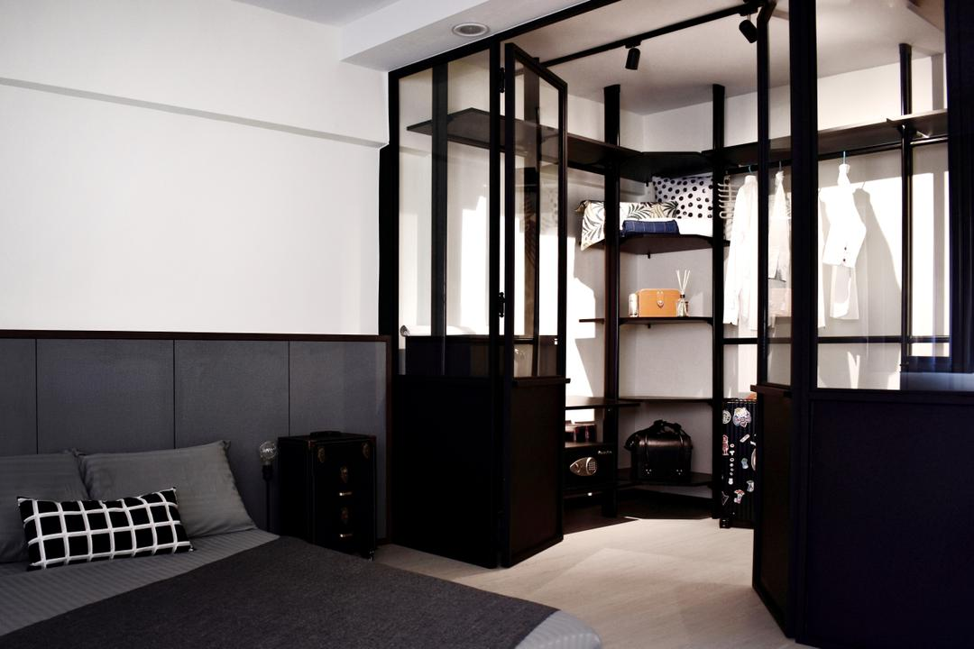 Ang Mo Kio, Happe Design Atelier, Contemporary, Bedroom, HDB, Furniture, Studio Couch