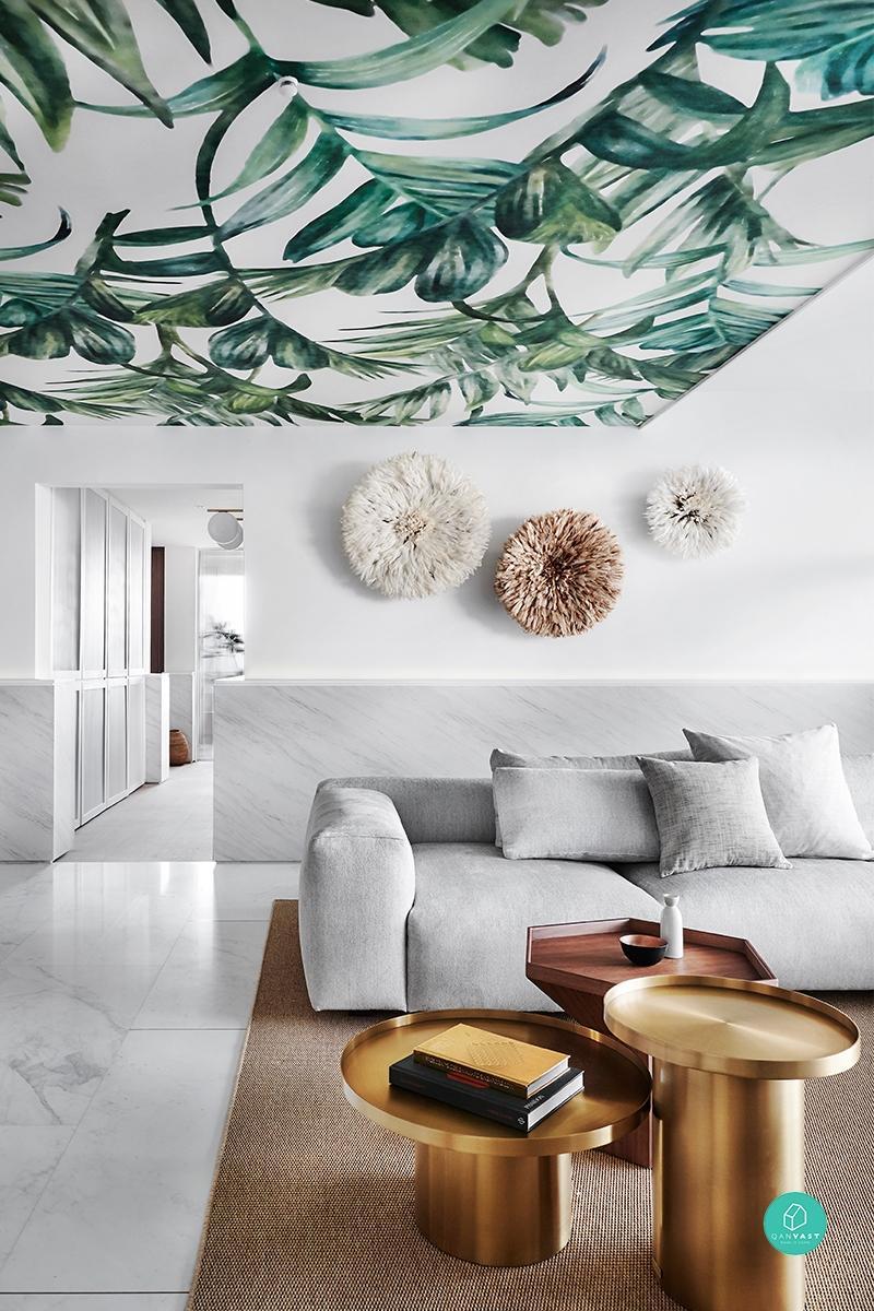 tropical decor east coast home