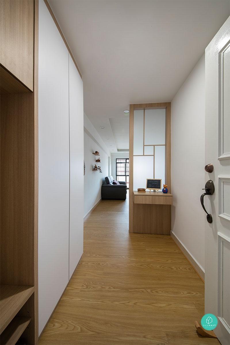 Muji Inspired Home Renovation Singapore $95000