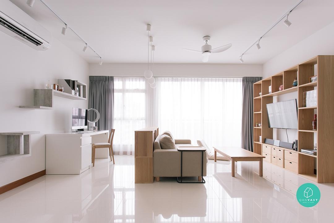 Muji Inspired Home Renovation Singapore $95000 19