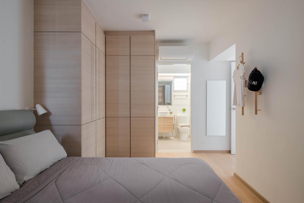 Minimalistic, HDB, Bedroom, Ang Mo Kio Street 51, Interior Designer, Weiken.com, Indoors, Interior Design