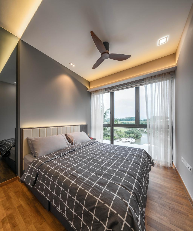 Contemporary, Condo, Watertown, Interior Designer, Weiken.com, Window, Bedroom, Indoors, Interior Design, Room