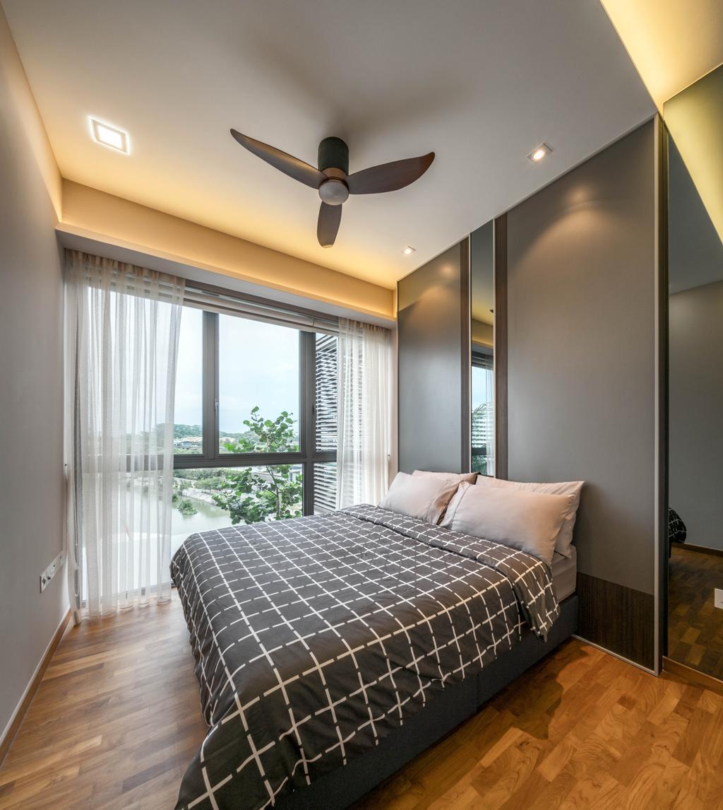 Contemporary, Condo, Bedroom, Watertown, Interior Designer, Weiken.com, Indoors, Interior Design, Room