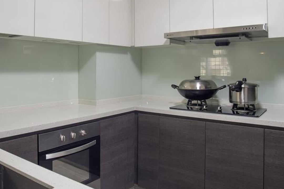 Woodlands Drive 70, Boewe Design, Modern, Kitchen, HDB, Frying Pan, Wok