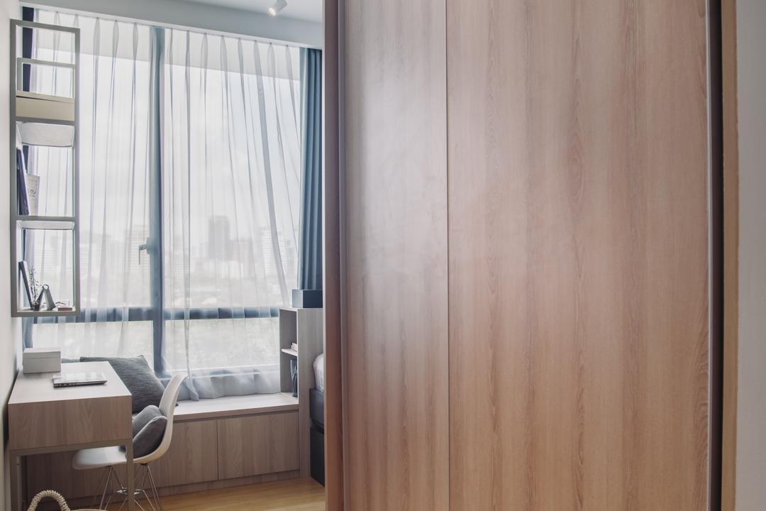 The Crest, Boewe Design, Contemporary, Condo, Door, Folding Door, Dining Table, Furniture, Table