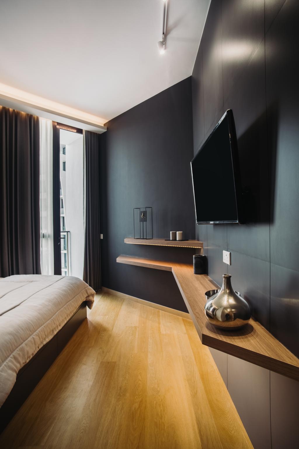 Contemporary, Condo, The Crest, Interior Designer, Boewe Design, Bedroom, Indoors, Interior Design, Room