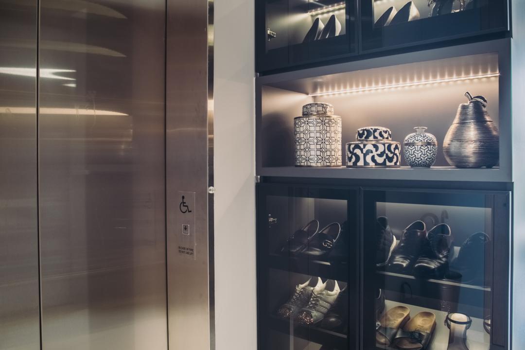 The Crest, Boewe Design, Contemporary, Condo, Cabinet, China Cabinet, Furniture