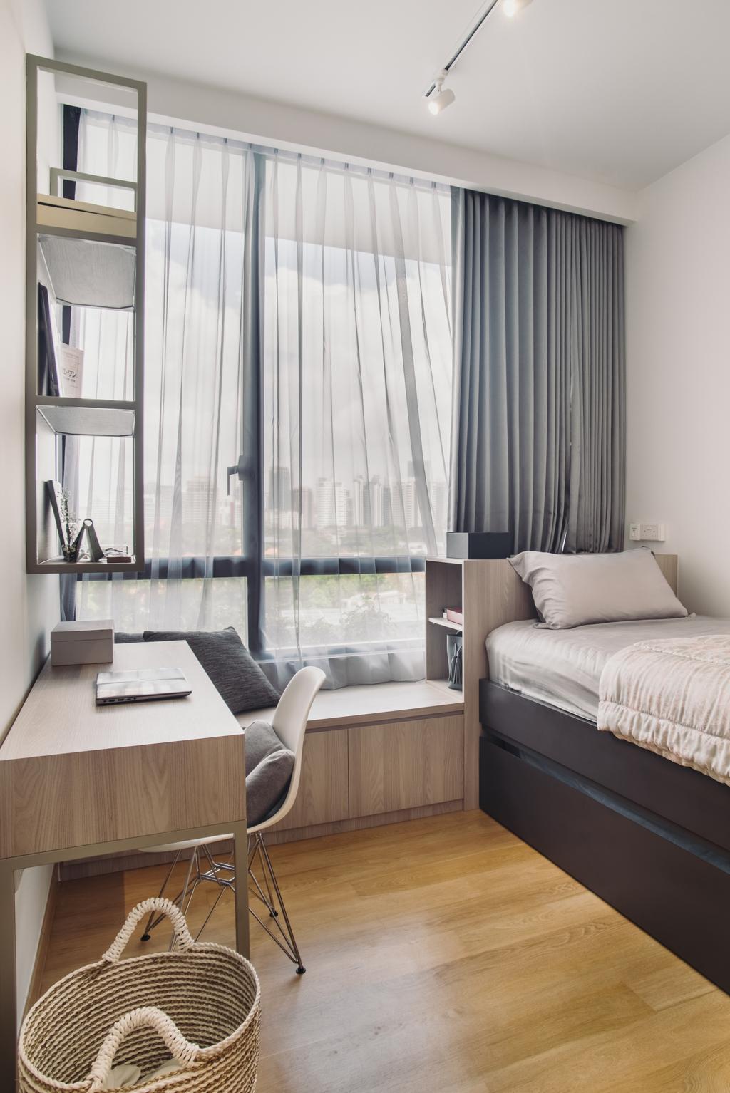 Contemporary, Condo, Study, The Crest, Interior Designer, Boewe Design, Indoors, Room
