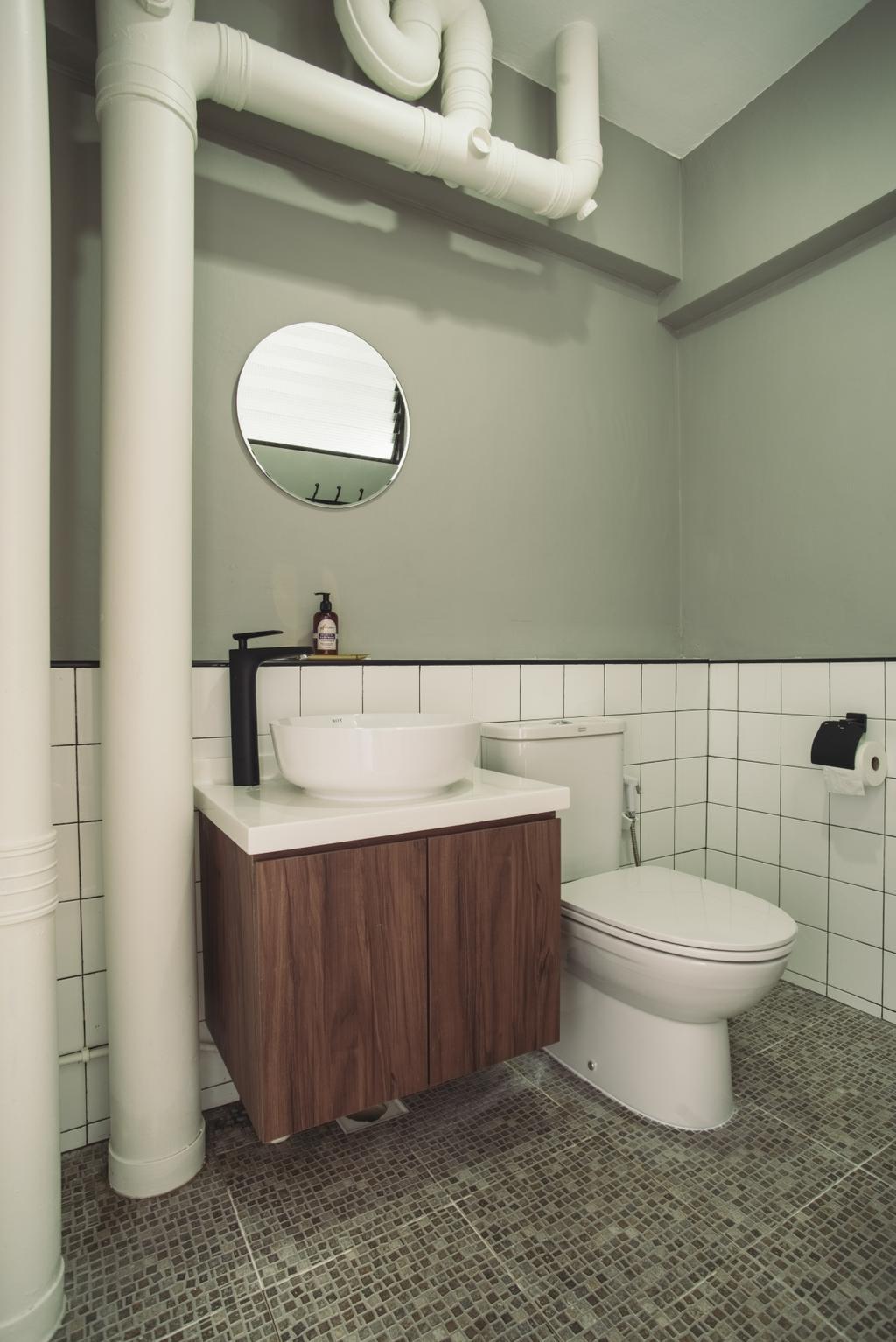 Scandinavian, HDB, Senja Road, Interior Designer, Boewe Design