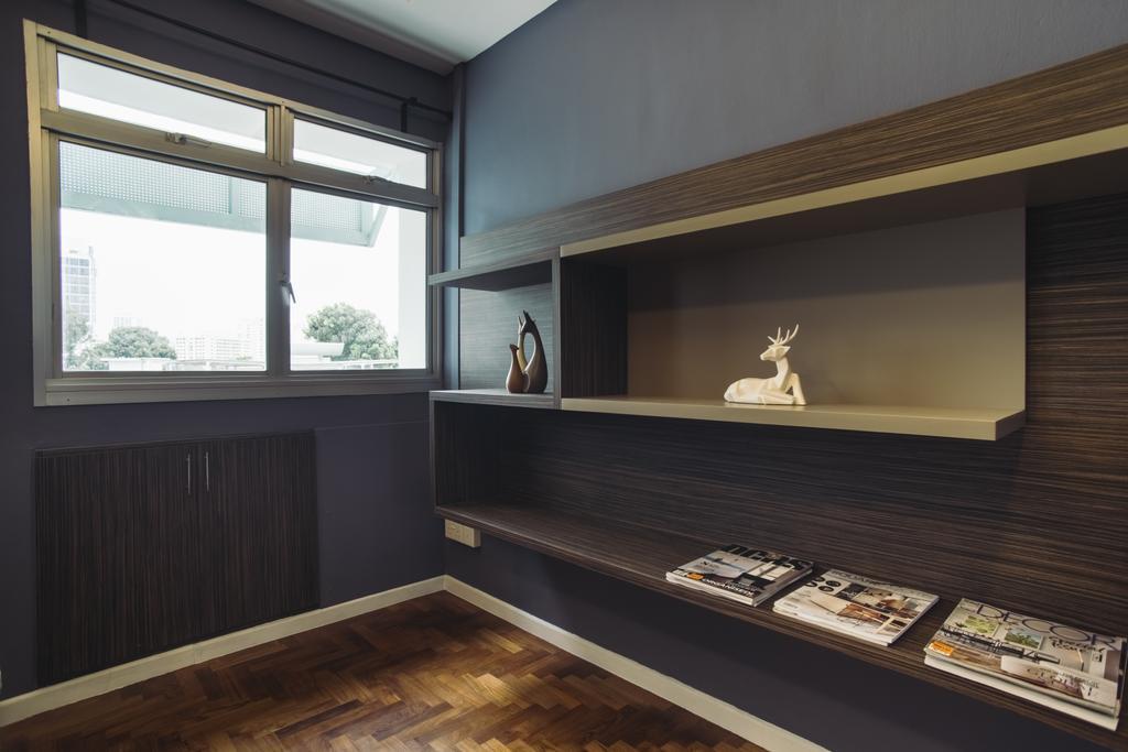 Scandinavian, HDB, Bedroom, Senja Road, Interior Designer, Boewe Design, Indoors, Interior Design