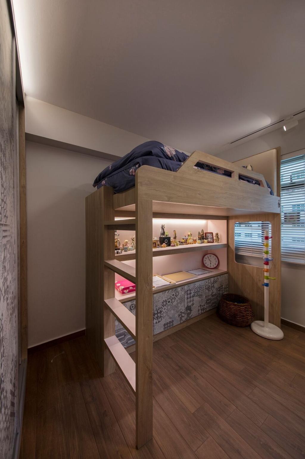 Modern, HDB, Yishun Ring Road, Interior Designer, Starry Homestead, Bowl, Shelf
