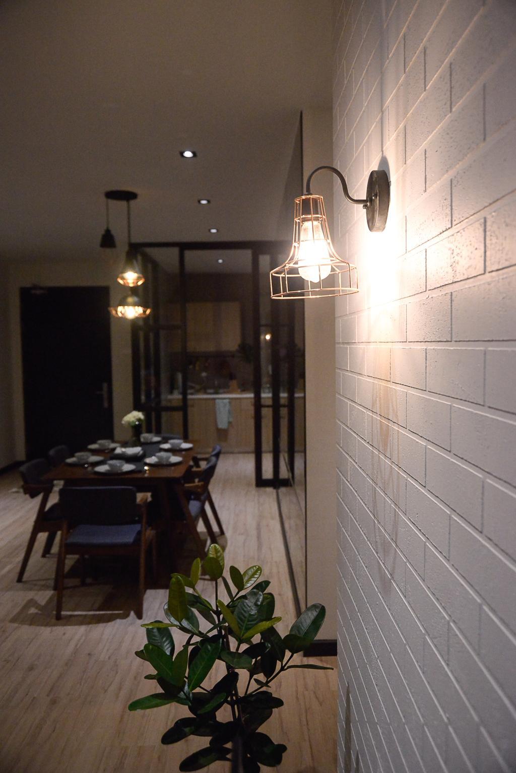 Modern, Condo, Aurora Residence, Puchong, Interior Designer, RK Interior Studio, Dining Room, Indoors, Interior Design, Room