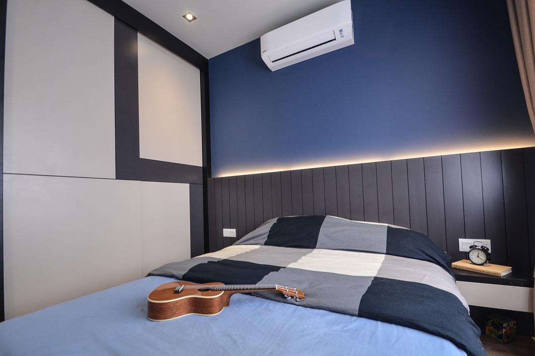Aurora Residence, Puchong, RK Interior Studio, Modern, Condo, Lighting